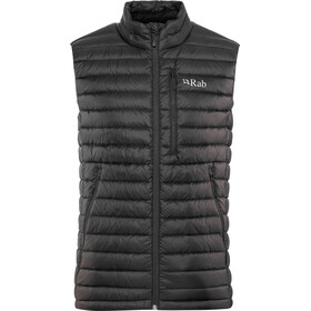 Rab Microlight bodywarmer Heren, black/shark